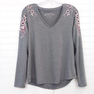 American Eagle Seriously Soft Perfect V-Neck Shirt